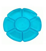 Platter - Neon Blue