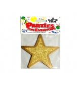 Cutouts - Glitter Stars Gold