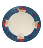 Platter - Hard Plastic, Santa
