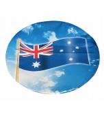 Dinner Plates, Australian Flag 8 pk