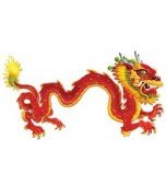 Cutout - Jointed Dragon, Large