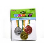 Medals - Gold, Silver, Bronze