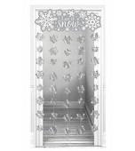 Doorway Curtain - Let It Snow
