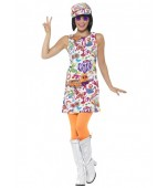Adult Costume - 1960's Groovy Chick