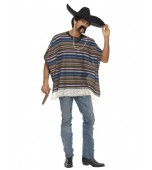 Adult Costume - Authentic Poncho