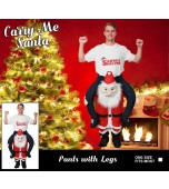 Adult Costume - Carry Me, Santa Claus