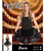 Adult Costume - Deluxe Tutu Skirt, Black