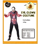 Adult Costume - Evil Clown Shirt