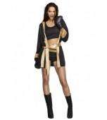 Adult Costume - Fever, Knockout Black & Gold