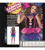 Adult Costume - Karnival, Ladies' Carnival Clown