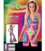 Adult Costume - Karnival, Tie-Dye Jumpsuit