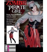 Adult Costume - Karnival, Zombie Pirate Female