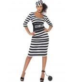 Adult Costume - Ladies' Classy Convict