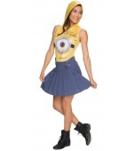 Adult Costume - Ladies' Minion Face Dress