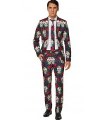 Adult Costume - Opposuits, Day of the Dead