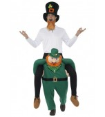 Adult Costume - Piggy Back, Leprechaun