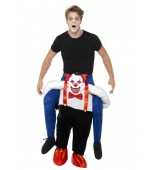 Adult Costume - Piggy Back, Sinister Clown