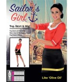 Adult Costume - Karnival, Sailor Girl Olive Oyl