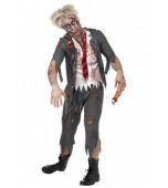 Adult Costume - Zombie School Boy