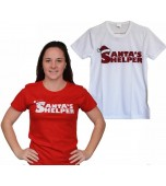 Adult T-Shirt - Ladies' Santa's Helper