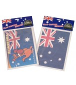 Car Window Cling - Australian Flag, Assorted