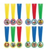 Award Medals - PAW Patrol 12 pk