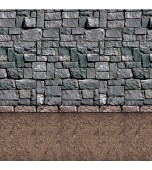 Backdrop - Stone Wall & Dirt Floor