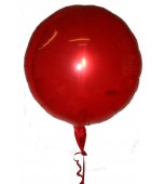 Balloon - Magic, Round Red