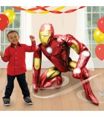 Balloon - Foil Airwalker, Iron Man