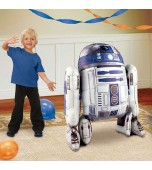 Balloon - Foil Airwalker, R2D2