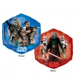 Balloon - Foil Hexagon, Star Wars Episode 7 Characters