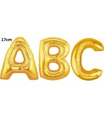 Balloon - Foil Letter, Small Gold