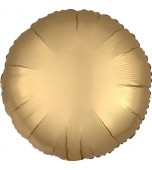 "Balloon - Foil, Round 18"" Satin Gold"