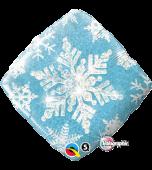 Balloon - Foil, Snowflake Sparkles