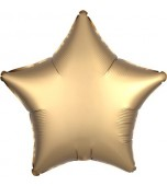 "Balloon - Foil, Star 18"" Satin Gold"