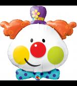 Balloon - Foil Super Shape, Cute Clown
