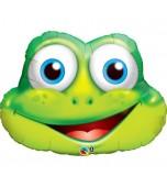 Balloon - Foil Super Shape, Funny Frog