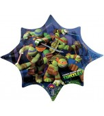 Balloon - Foil Super Shape, Teenage Mutant Ninja Turtles
