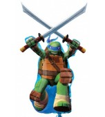 Balloon - Foil Super Shape, Teenage Mutant Ninja Turtles Leonardo