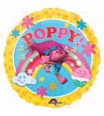 Balloon - Foil Trolls, Poppy