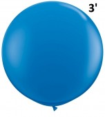 Balloon - Latex 3' Standard Dark Blue