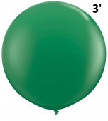 Balloon - Latex 3' Standard Green