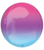 Balloon - Round Orbz, Ombre Purple & Blue