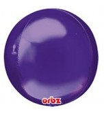 Balloon - Round Orbz, Purple