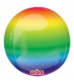 Balloon - Round Orbz, Rainbow