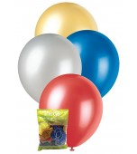 Balloons - 30 cm, Metallic Mix 25 pk