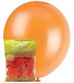 Balloons - 30 cm, Metallic Orange 25 pk