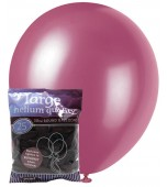 Balloons - 30 cm, Pearl Burgundy 25 pk