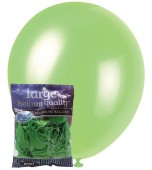 Balloons - 30 cm, Pearl Lime Green 25 pk