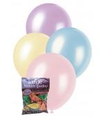 Balloons - 30 cm, Pearl Mix 25 pk